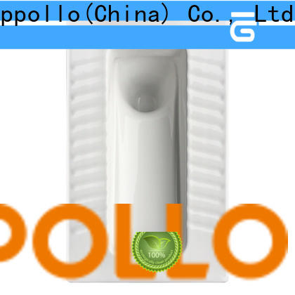 Appollo best restroom toilet factory for restaurants