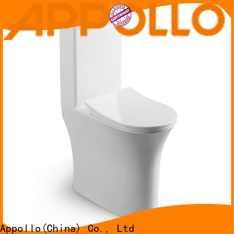 Appollo restroom square toilet for business for family