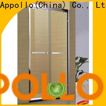 Appollo ts821b custom frameless glass shower doors company for hotels