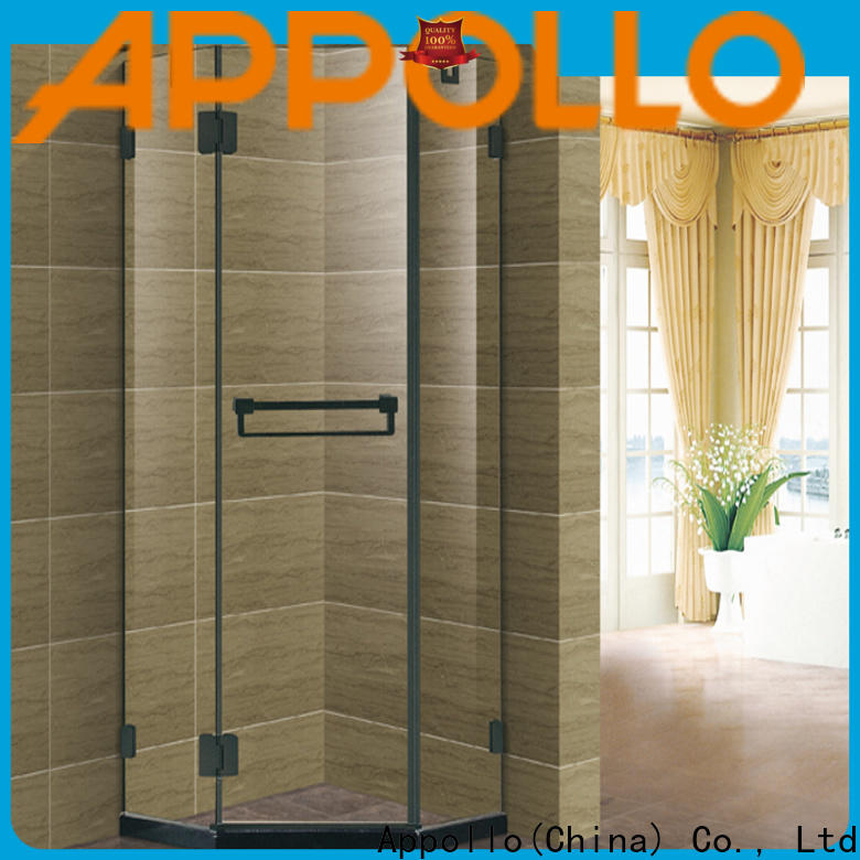 Appollo sliding shower stall enclosures factory for home use