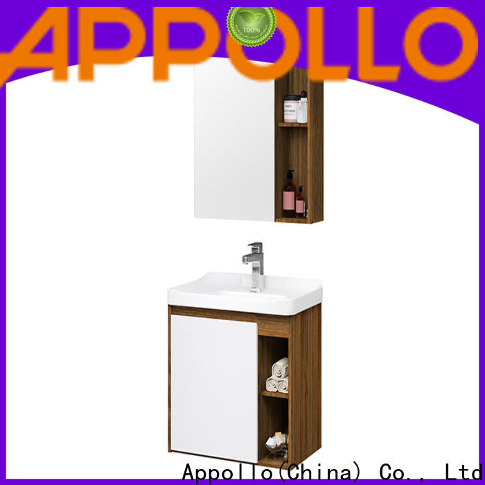 Appollo wholesale freestanding bathroom furniture suppliers for hotels