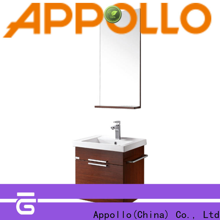 Appollo light bathroom cabinet with drawers supply for family