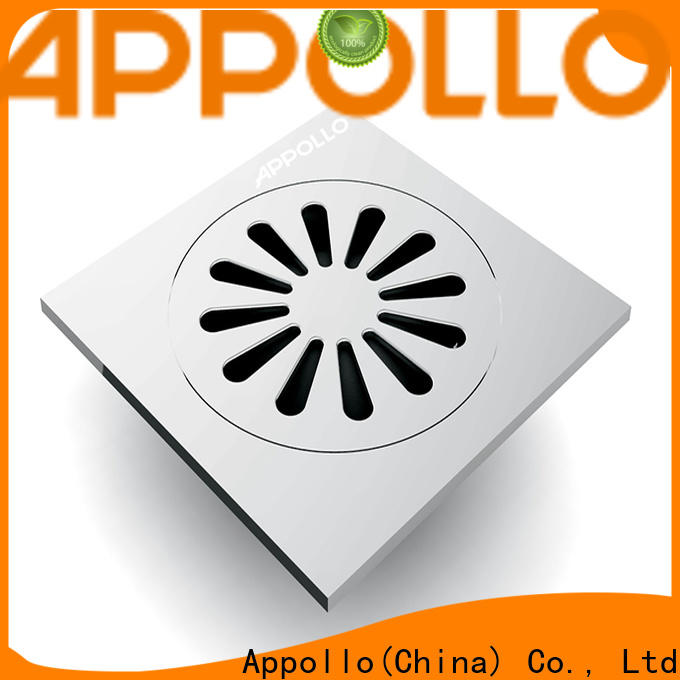 Appollo quality low profile shower drain company for bathroom