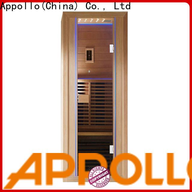 Appollo Appollo Bath one person infrared sauna suppliers for resorts