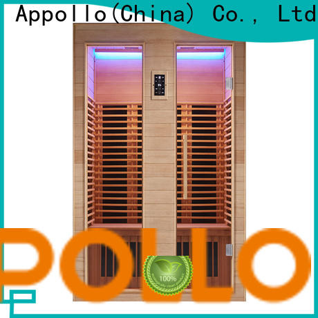 Appollo Bath corner sauna light suppliers for home use