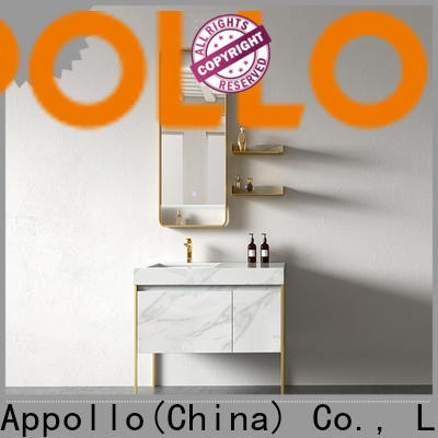 top bathroom cabinet with mirror hermes factory for resorts