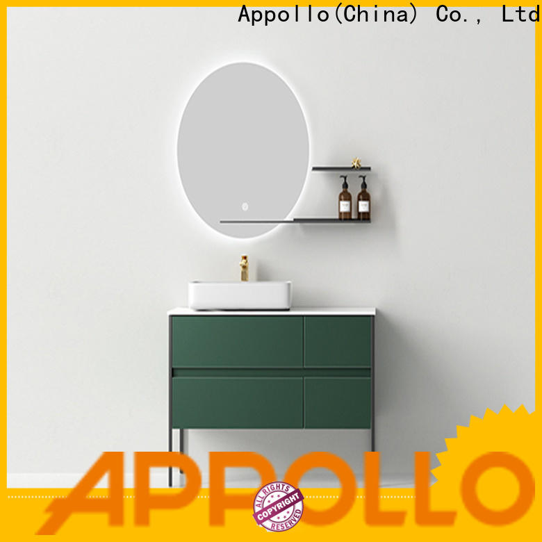 Appollo new bathroom mirror cabinet with lights company for home use