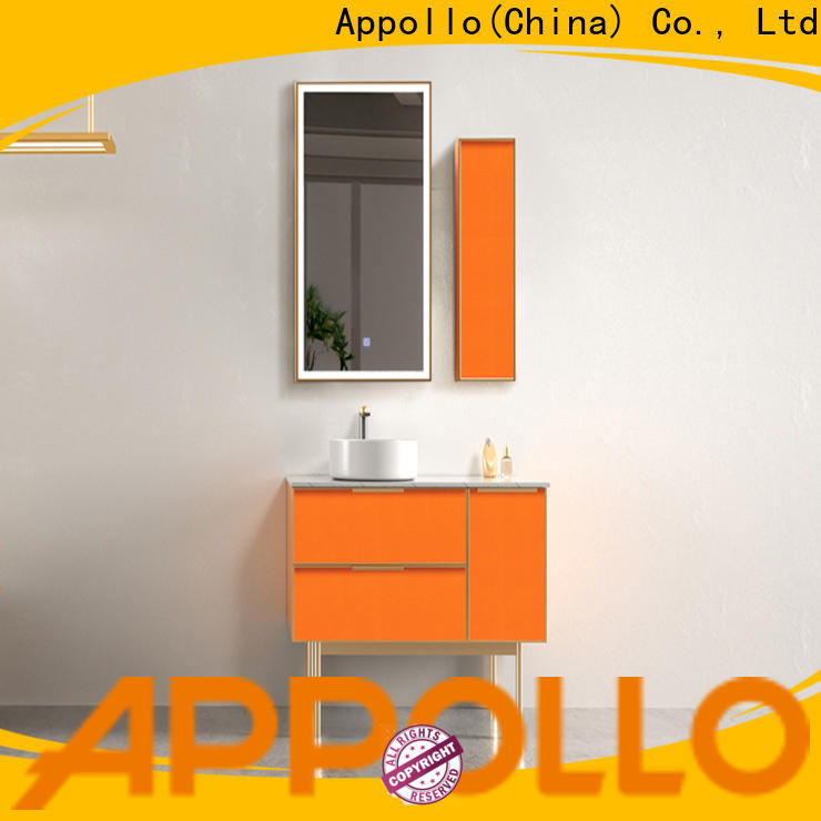 Appollo light bathroom storage drawers for business for hotels