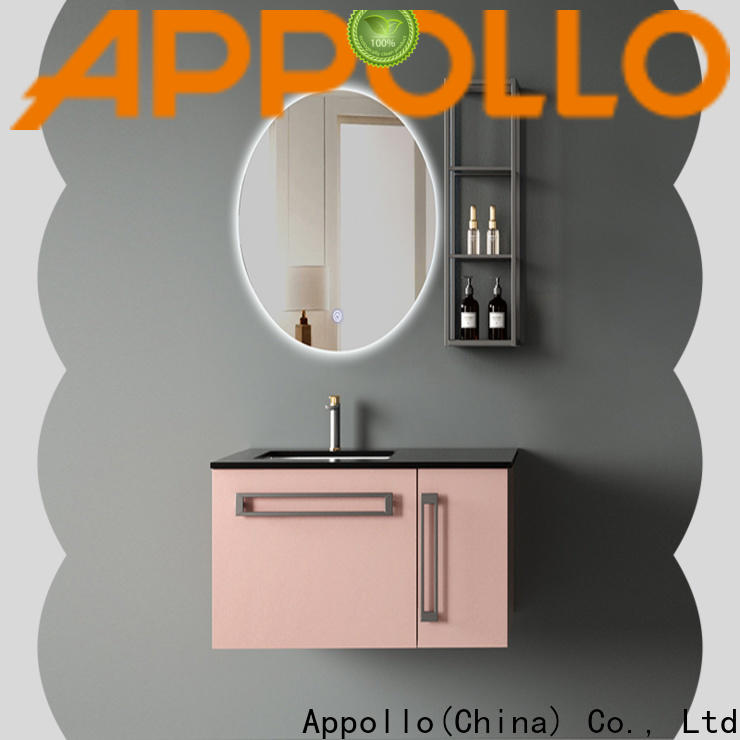 Appollo design small bathroom cabinet for business for resorts