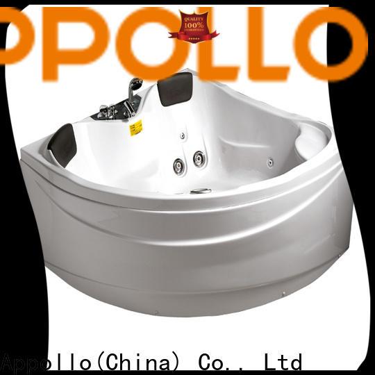 Appollo new bubble massage bathtub for business for hotels