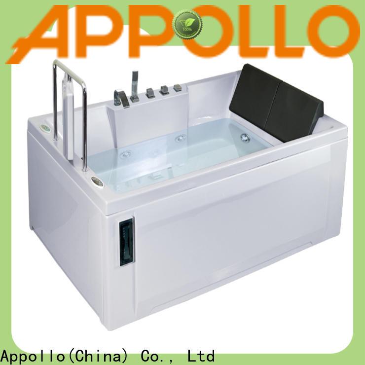 Appollo top air jet bathtub manufacturers factory for restaurants