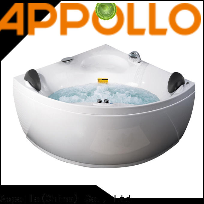 Appollo latest whirlpool air jet tubs manufacturers for bathroom
