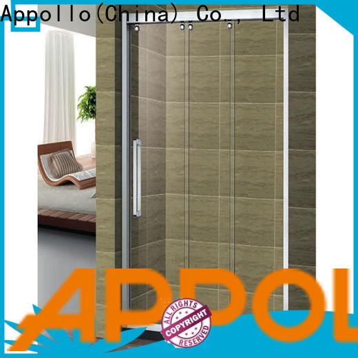 Appollo frameless shower door manufacturers factory for home use