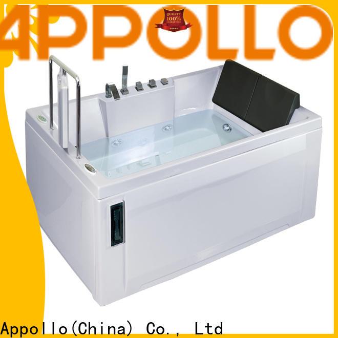 Appollo latest whirlpool bathtub parts manufacturers for restaurants