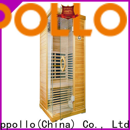 Appollo wholesale far infrared sauna near me factory for family