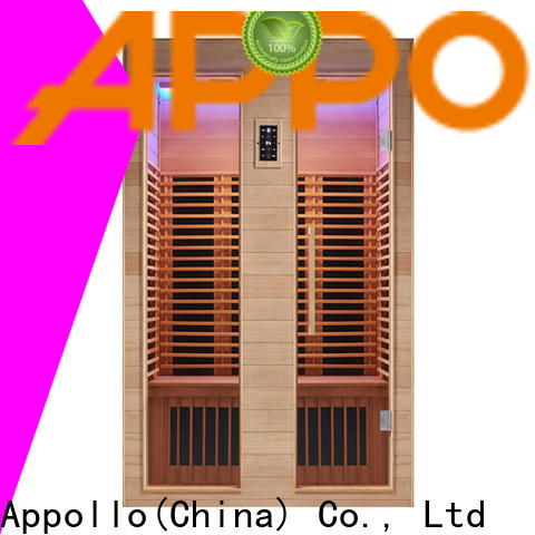 Appollo v0120 far infrared sauna for home use
