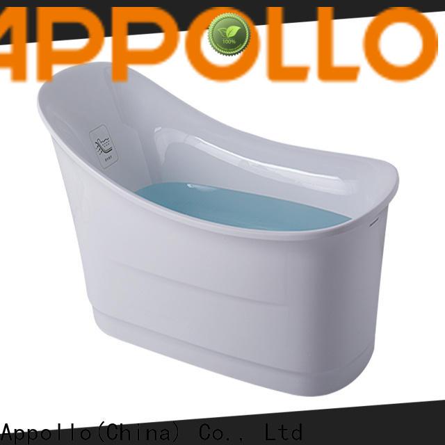 Appollo new corner bubble tub supply for hotels