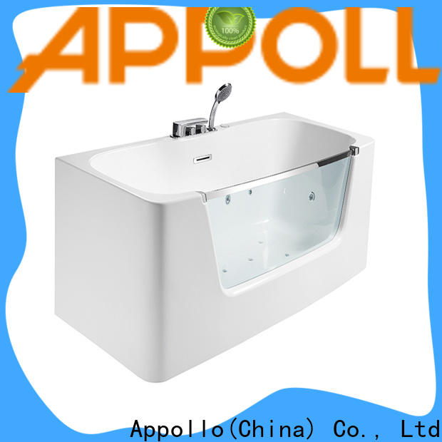 Appollo bath air tubs with heaters factory for restaurants