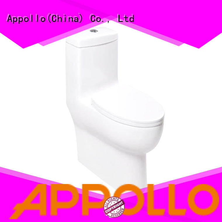Appollo wholesale ceramic toilet seat for family