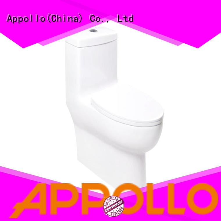 Appollo wholesale ceramic toilet seat for family