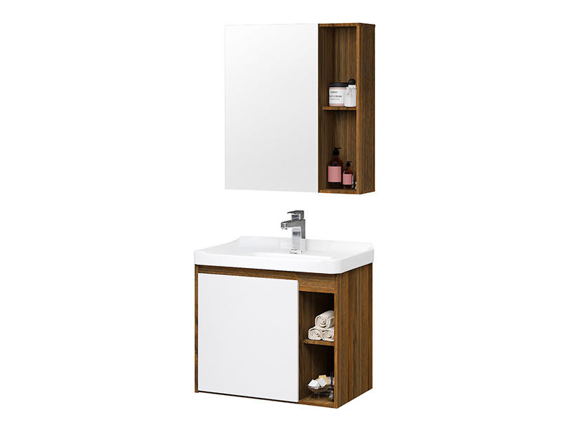 Modern Bathroom Towel Cabinet With Acrylic Basin Af-1802
