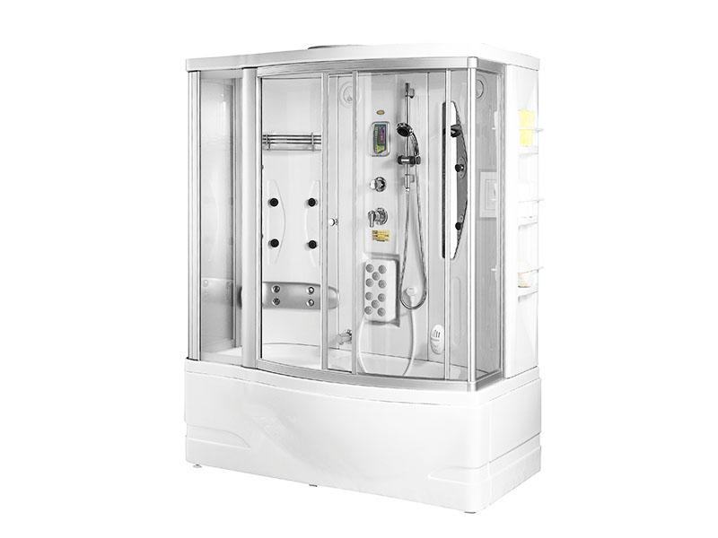 Steam Cabinet Shower Spa With Glass Sliding Door A-0830
