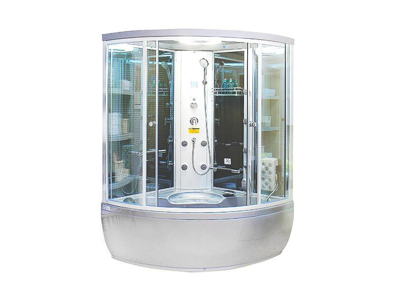 Whirlpool Steam Bath Cabin With Multimedia Guci-862