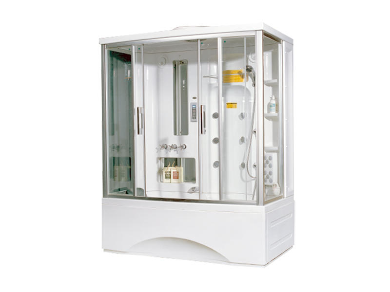 Indoor Steam Shower Cabin And Tray Su-1700/ts-1700w