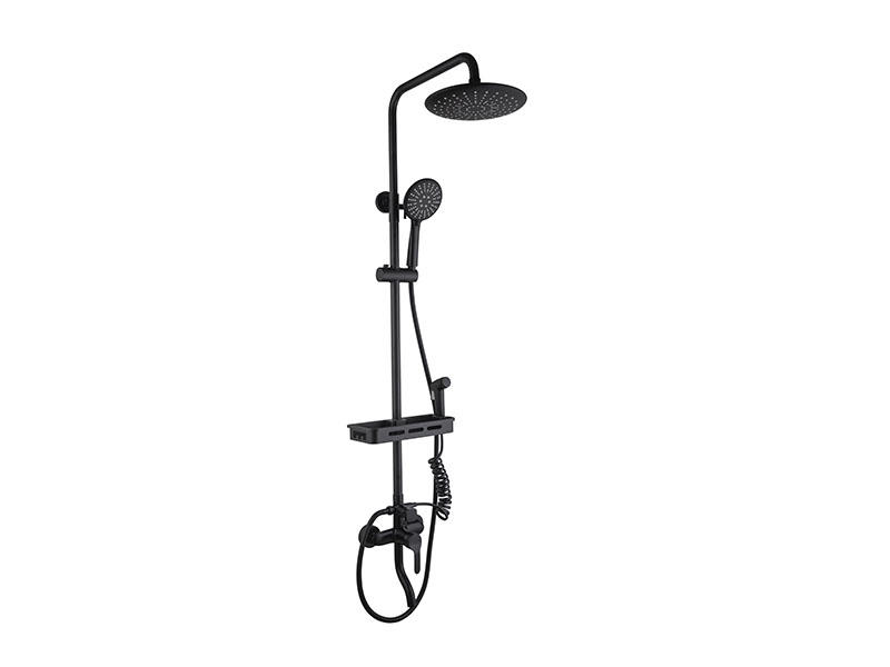 Bathroom Rain Shower Head With Handheld As-8020h
