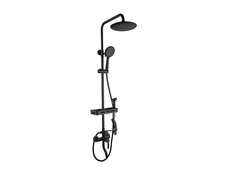 Bathroom Rain Shower Head With Handheld As-8020h