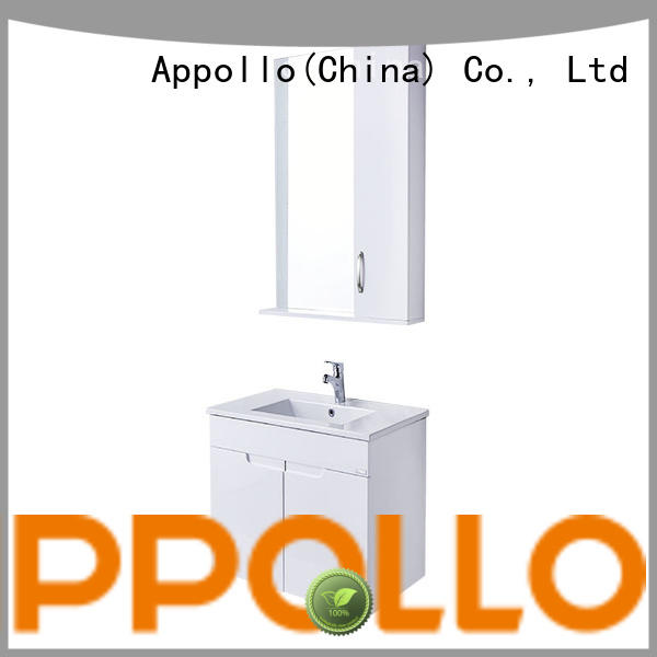 Appollo latest bathroom furniture suppliers company for family