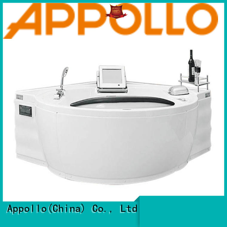 Appollo at9086 freestanding corner tub suppliers for home use