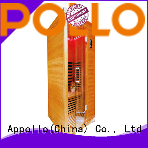 Appollo best carbon fiber infrared sauna for family