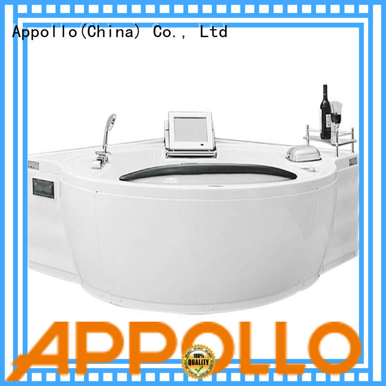 Appollo bathtub water jet bathtub suppliers for indoor