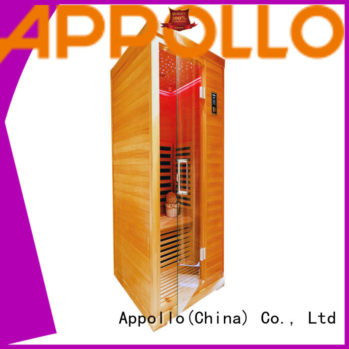 Appollo top ir sauna manufacturers for 2-3 person