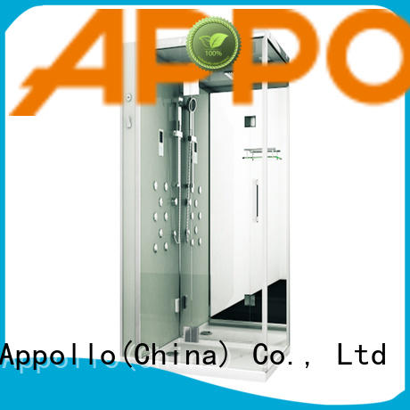 Appollo wholesale glass steam room for home use