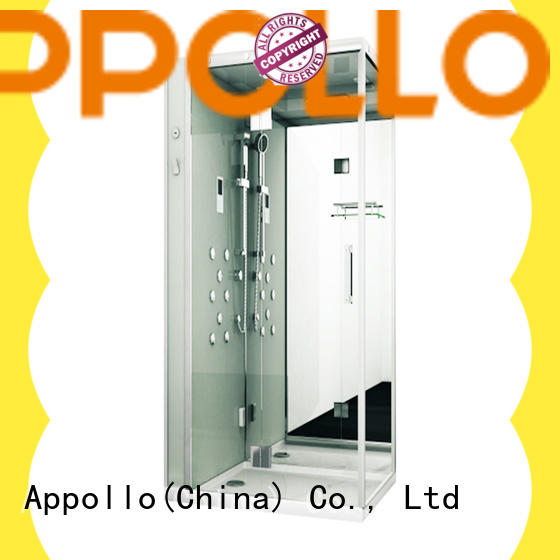Appollo indoor glass steam room company for house