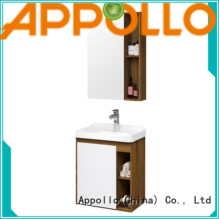 Appollo wholesale bathroom cabinet manufacturers for business for family