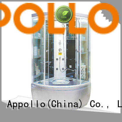 Appollo latest electric shower cabins manufacturers for family