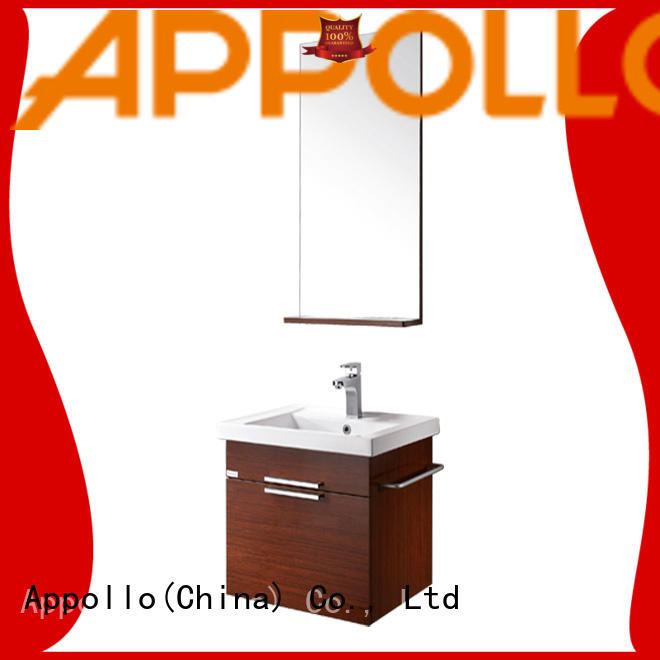 Appollo cabinet bathroom mirror cabinet with lights factory for home use