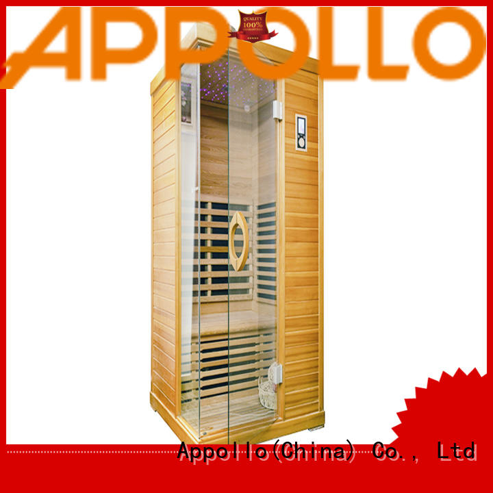 Appollo new best home infrared sauna for 2-3 person