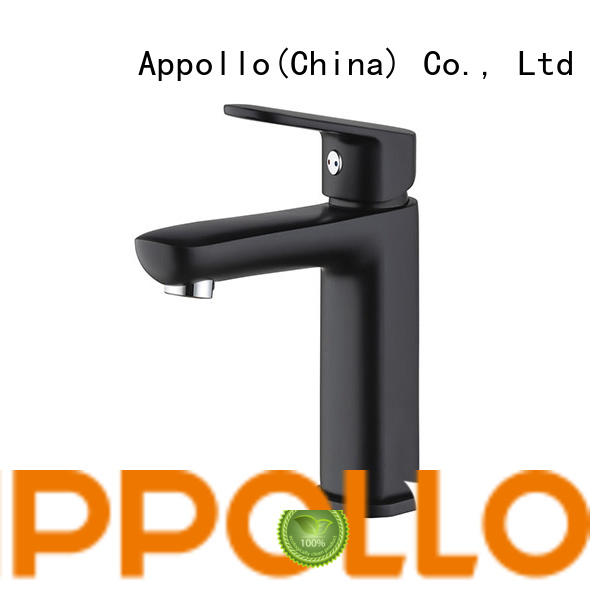 Appollo high-quality single hole bathroom faucet company for hotel