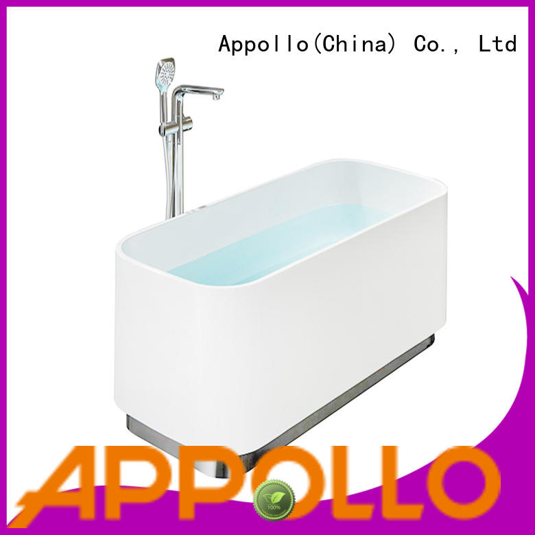 Appollo latest bathtub with jets for business for indoor