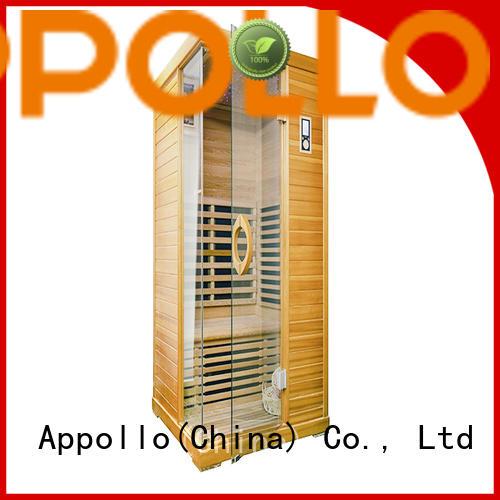 Appollo steam far red infrared sauna company for house