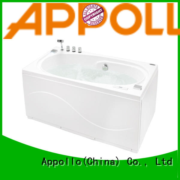 Appollo latest massage tub with shower factory for hotel