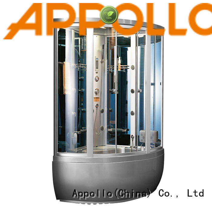 Appollo bath massage shower cabin suppliers for hotels