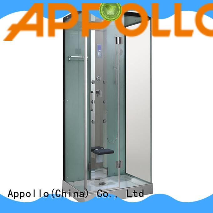 Appollo tray steam shower bath for business for hotels