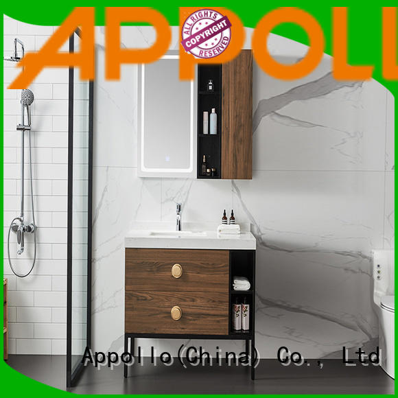 Appollo uv3908 fitted bathroom furniture manufacturers supply for home use