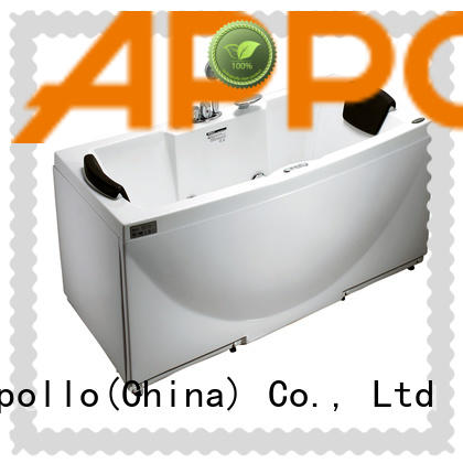 Appollo wholesale jacuzzi alcove tub supply for home use
