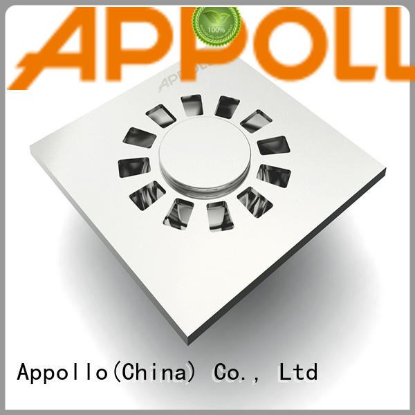 Appollo new bathroom floor drain trap company for bathroom